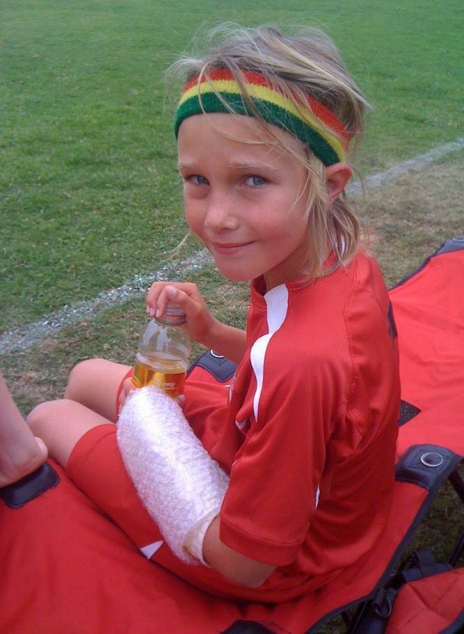 soccer teenage boy