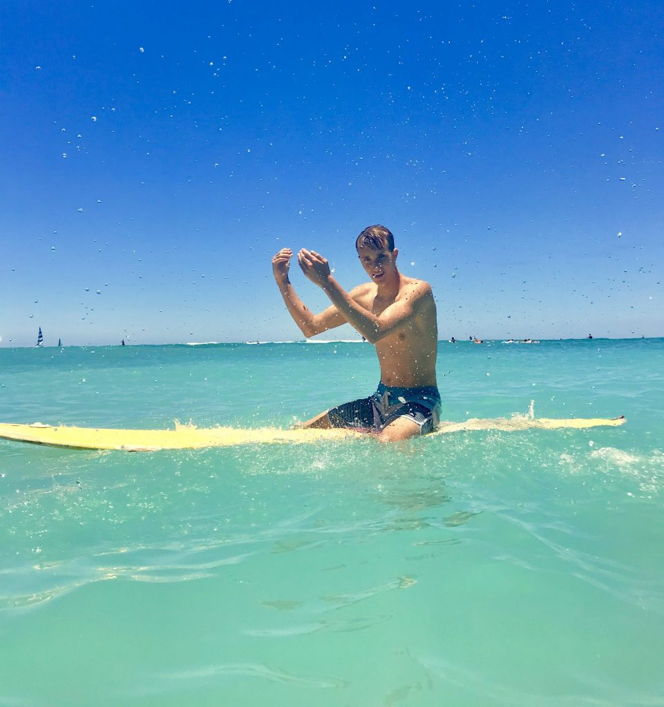 surf waikiki beach oahu