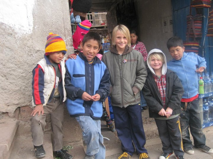 peru kids cusco