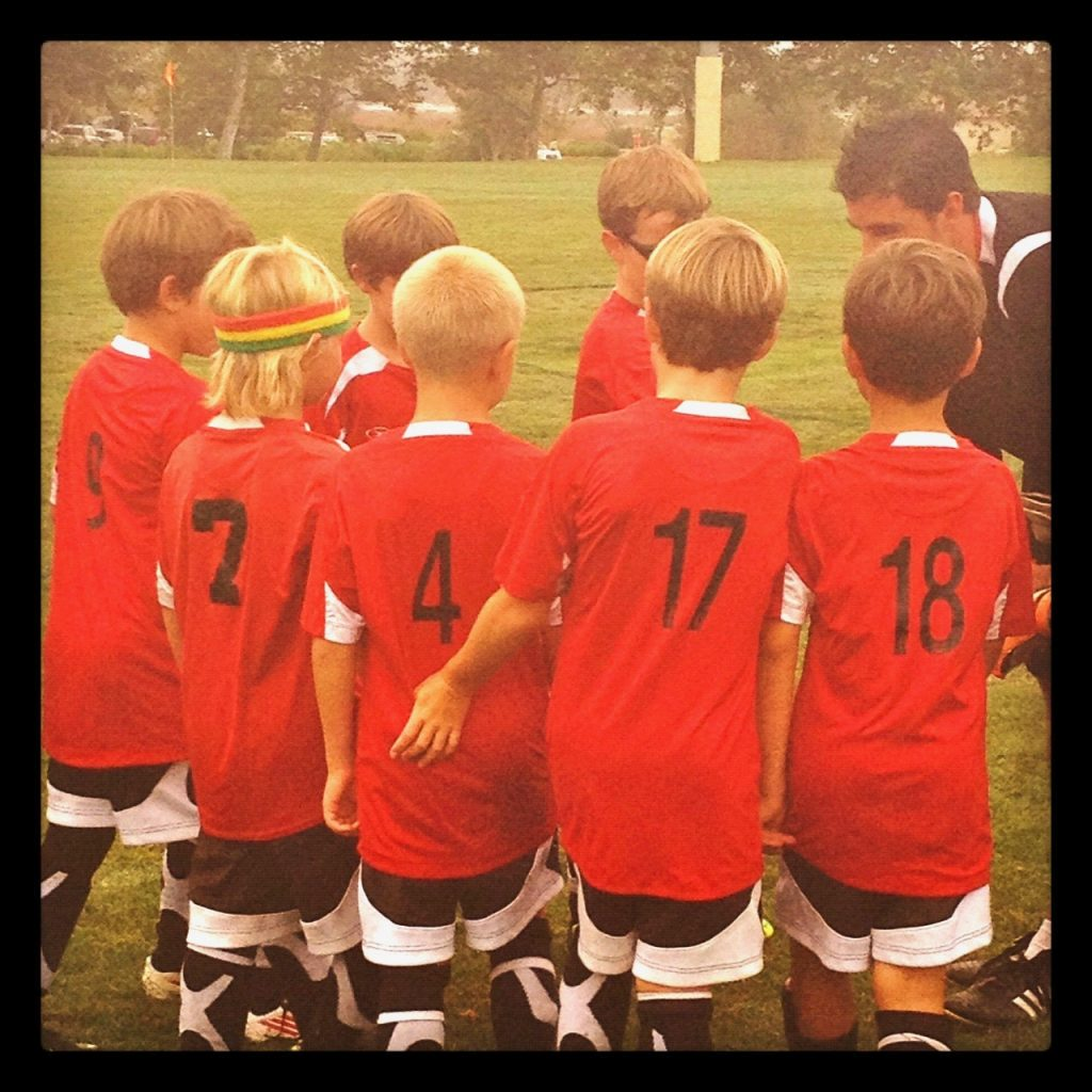 youth soccer team sports