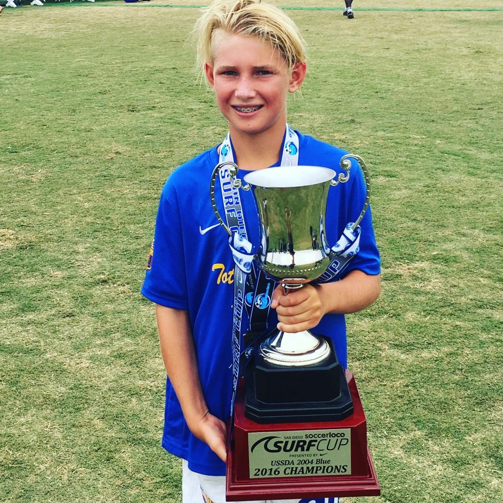 surf cup soccer champion
