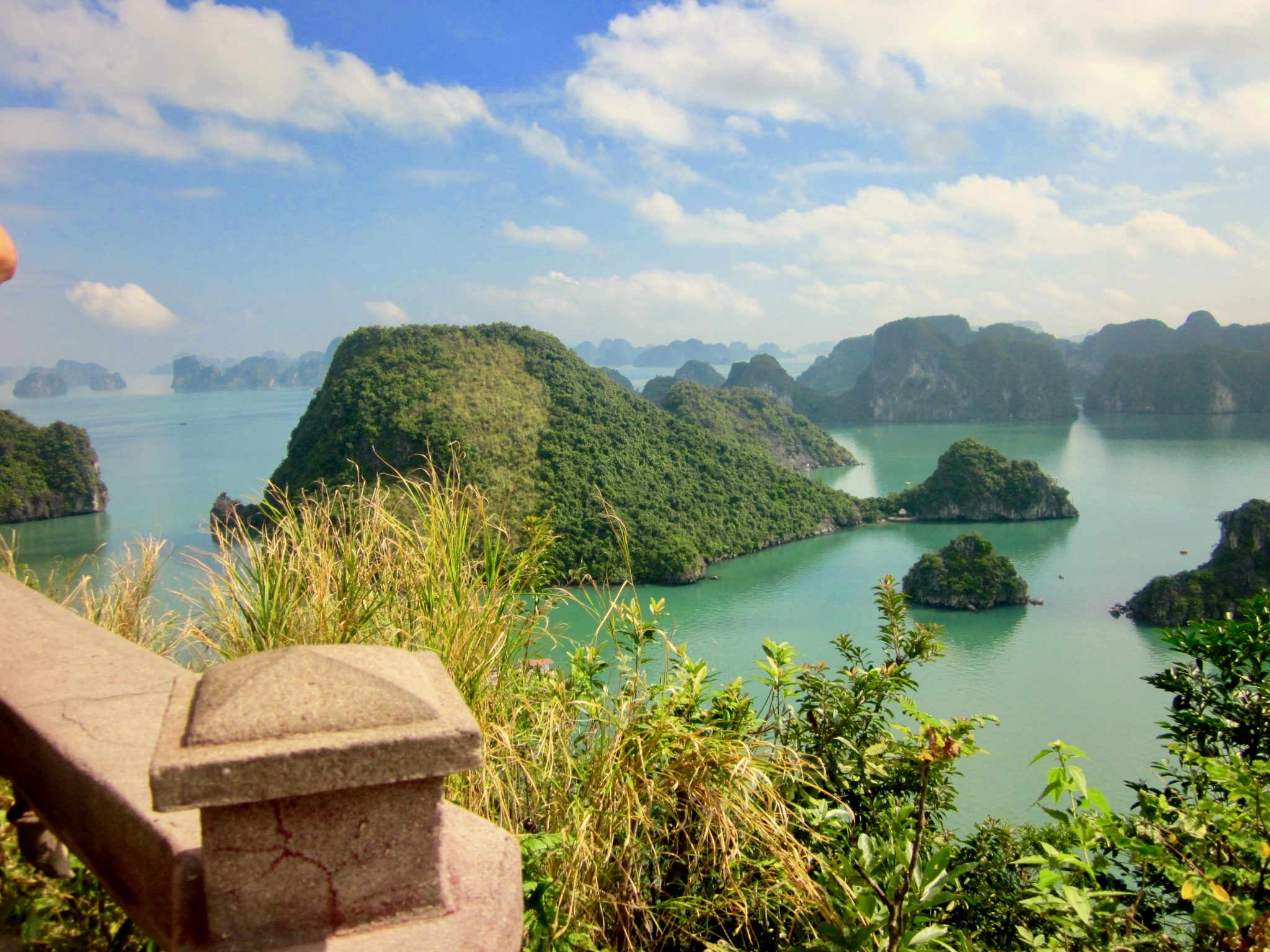 halong bay with your family