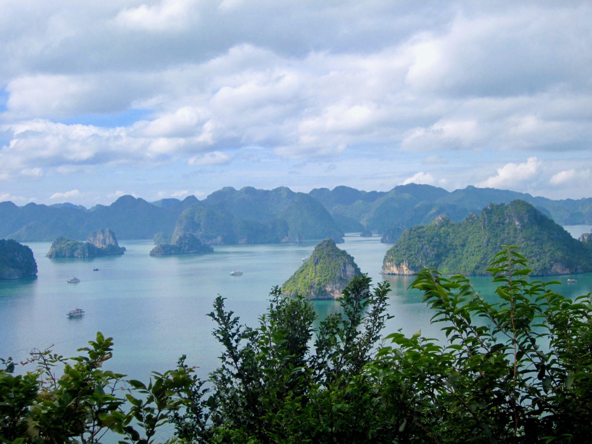 halong Bay in Vietnam is stunning
