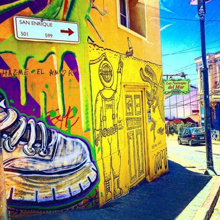 valparaiso chile street art