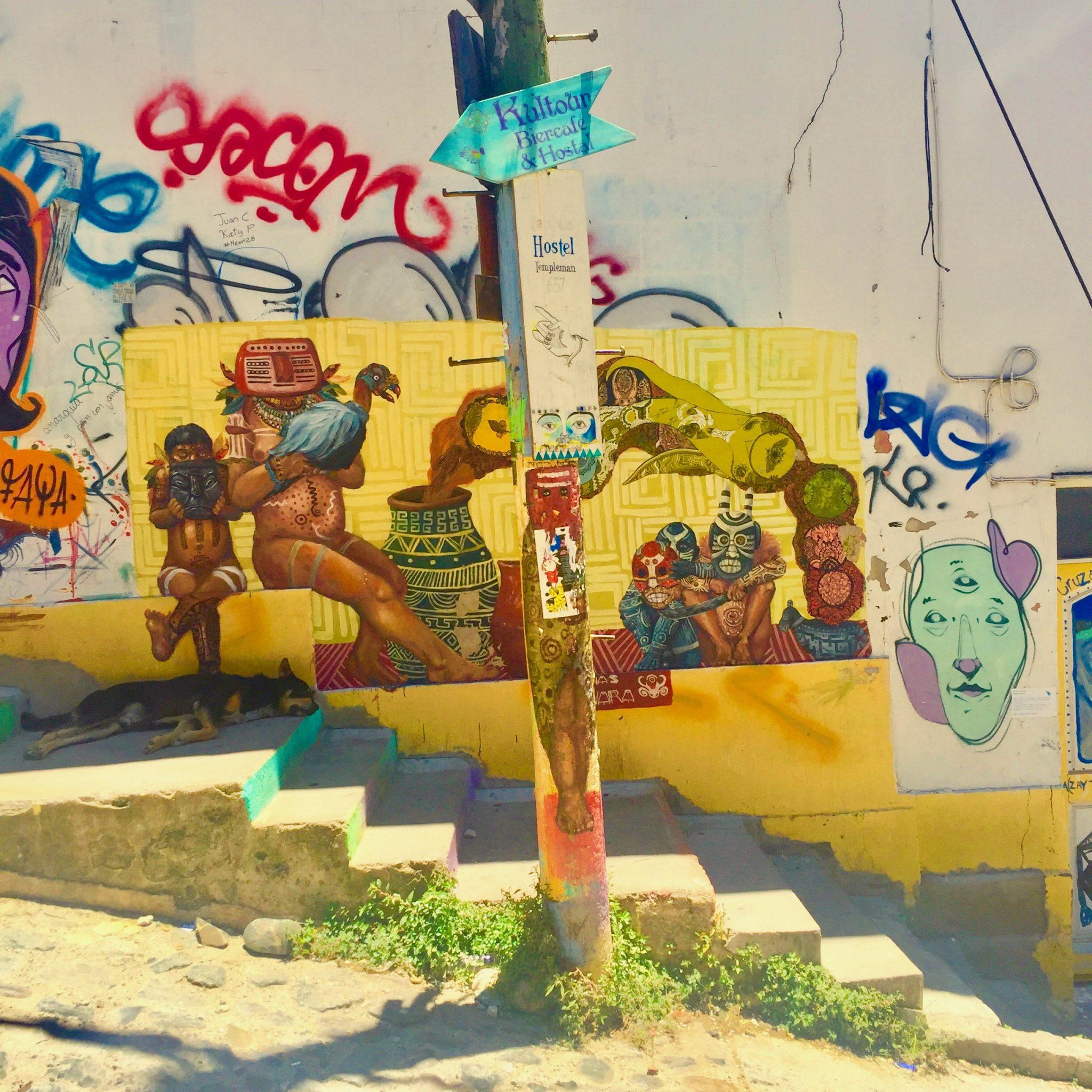 Valparaíso, Chile amazing street art