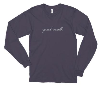 spread warmth tshirt