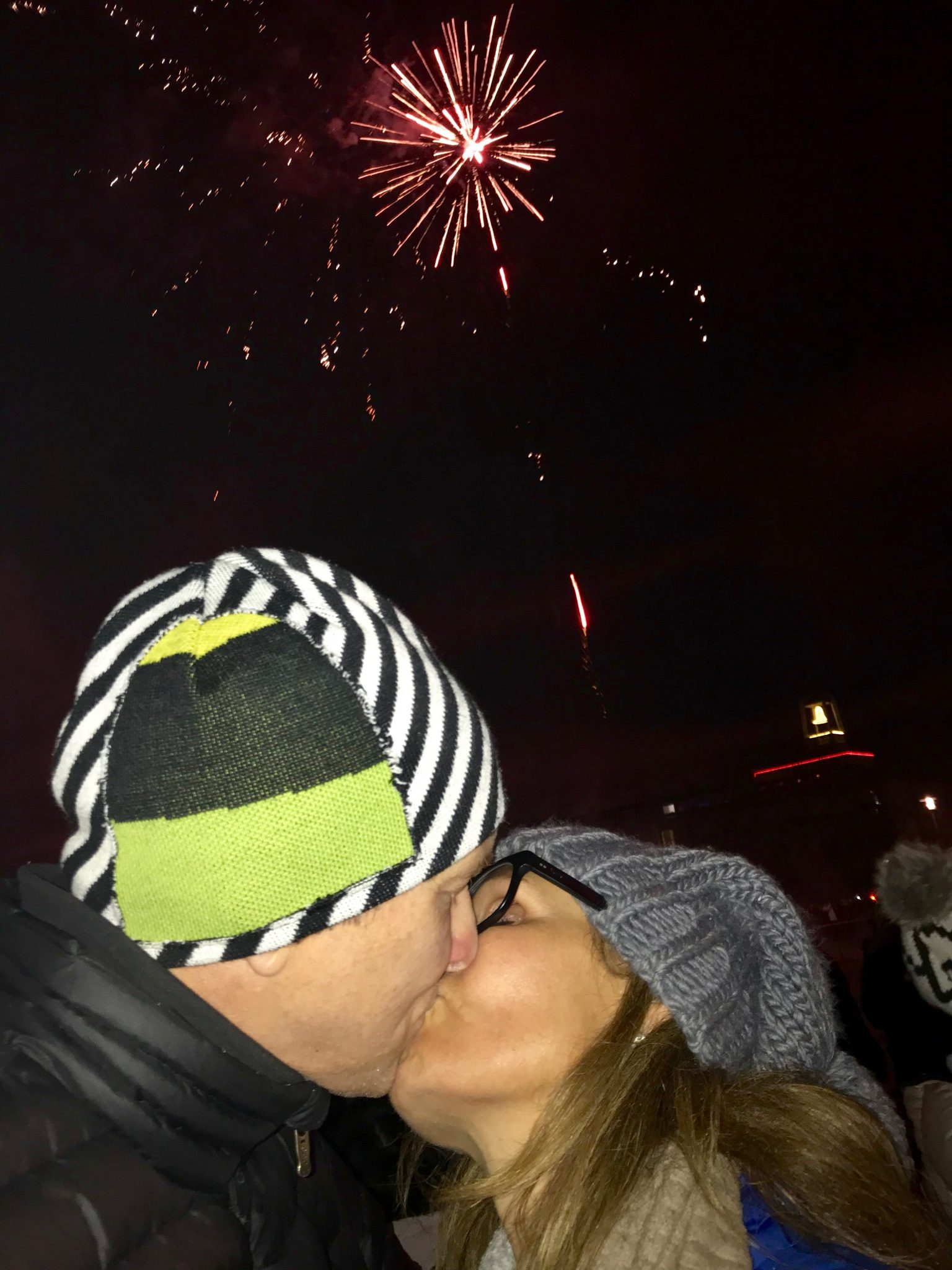 new years eve fireworks in reykjavik new years eve kiss