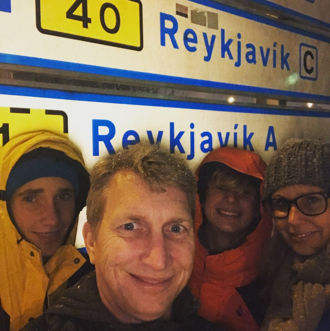 Reykjavik iceland for new years eve with the family