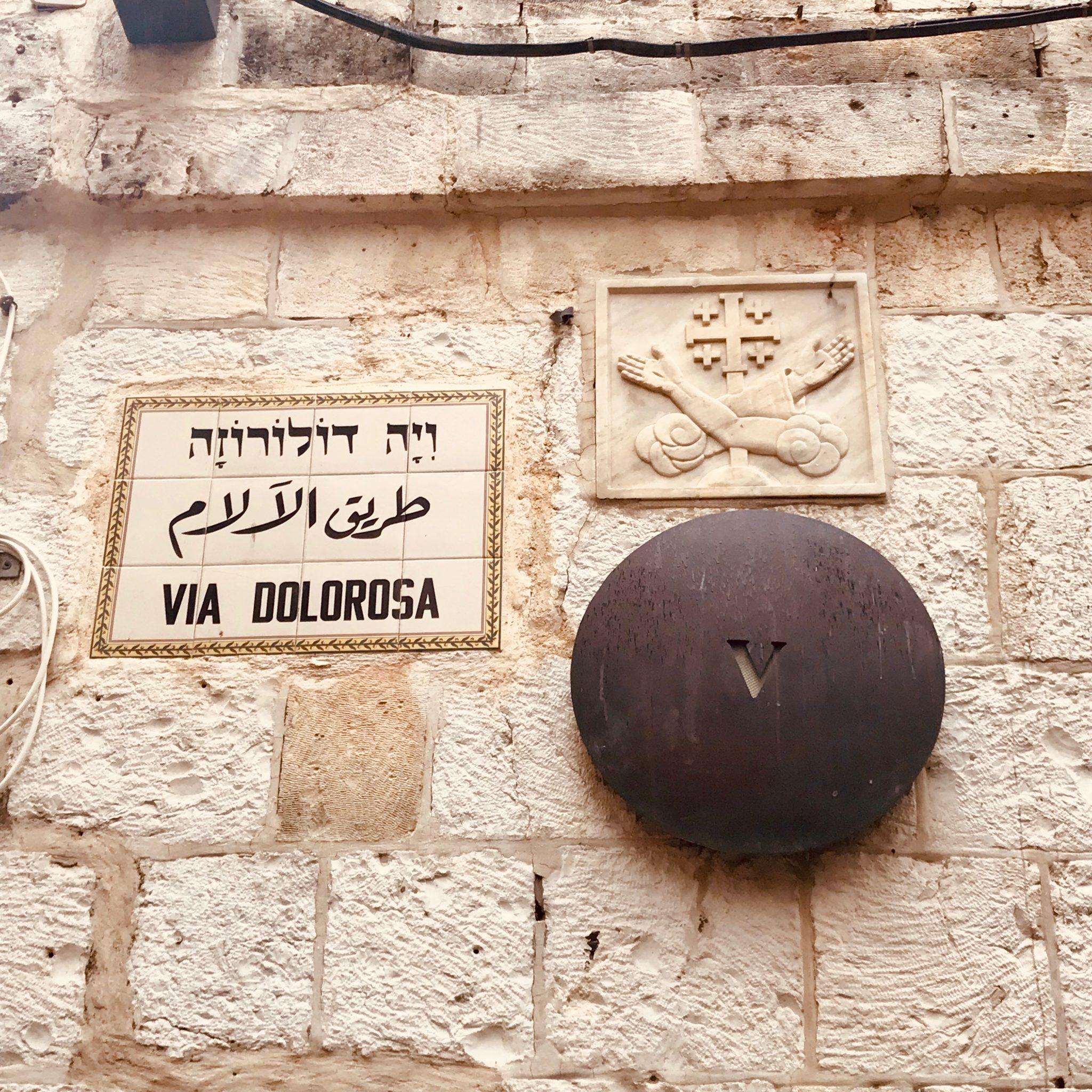 stations of the cross in jerusalem in bethlehem