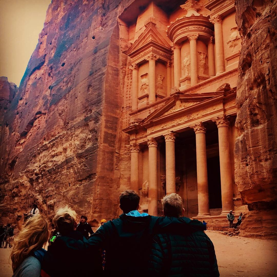 the magical petra wonder of the world