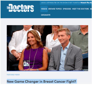thedoctorstv breast cancer survivor
