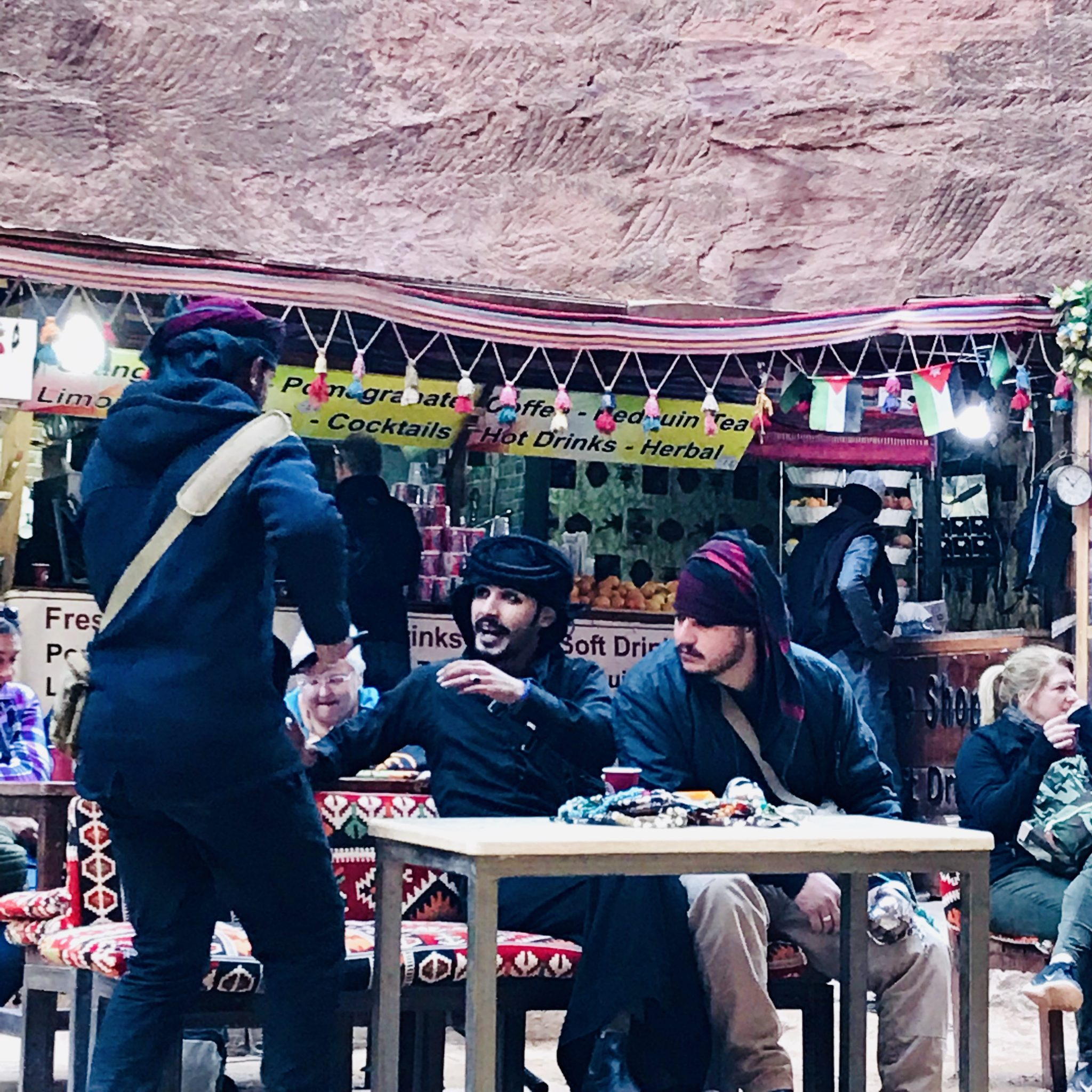 bedouins in petra jordan