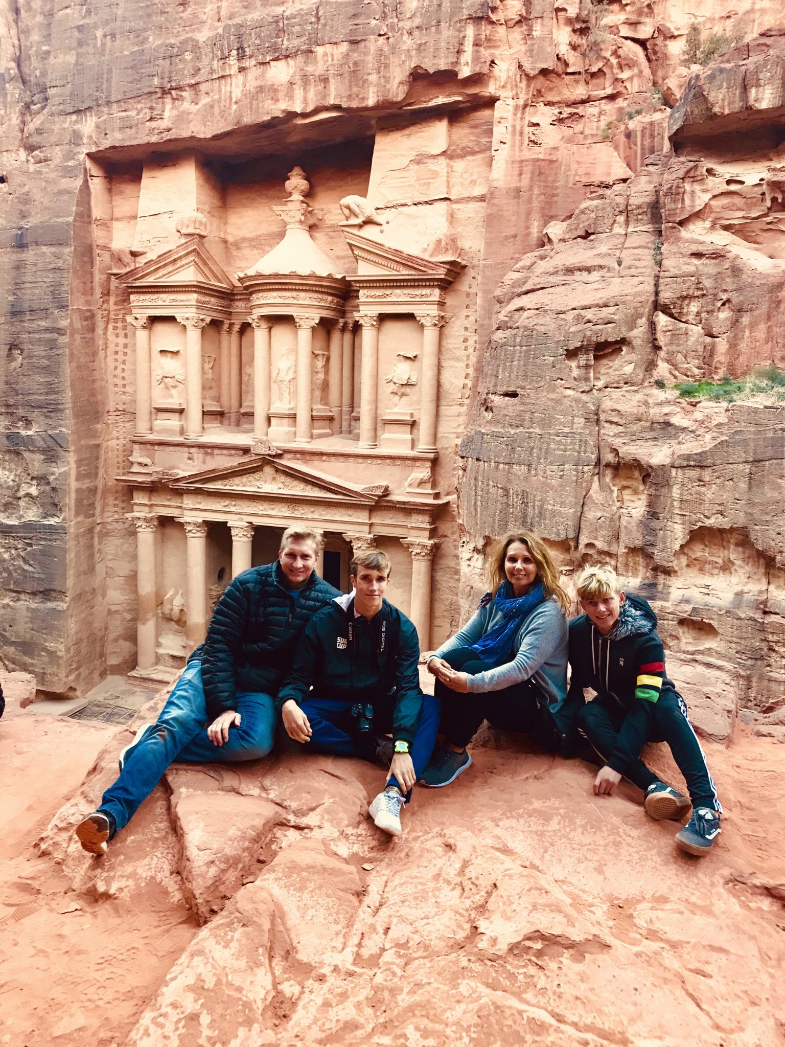 petra jordan with the family