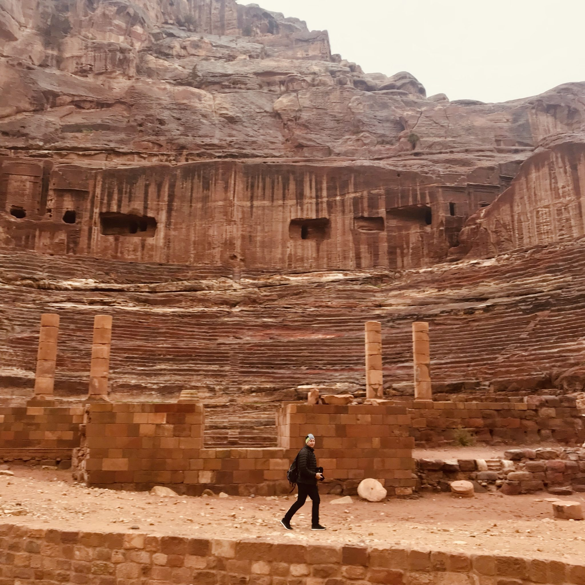the theatre in petra jordan