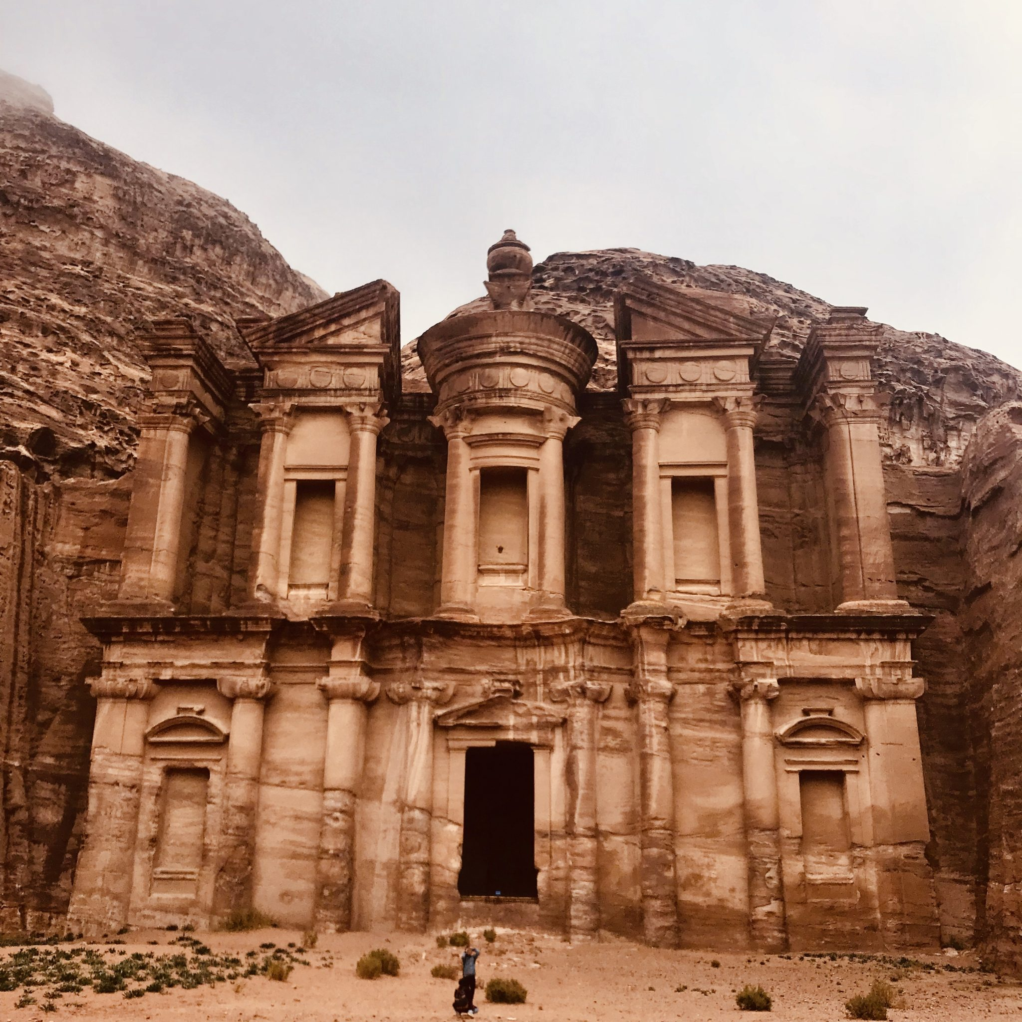 the beautiful monastery hike in Petra