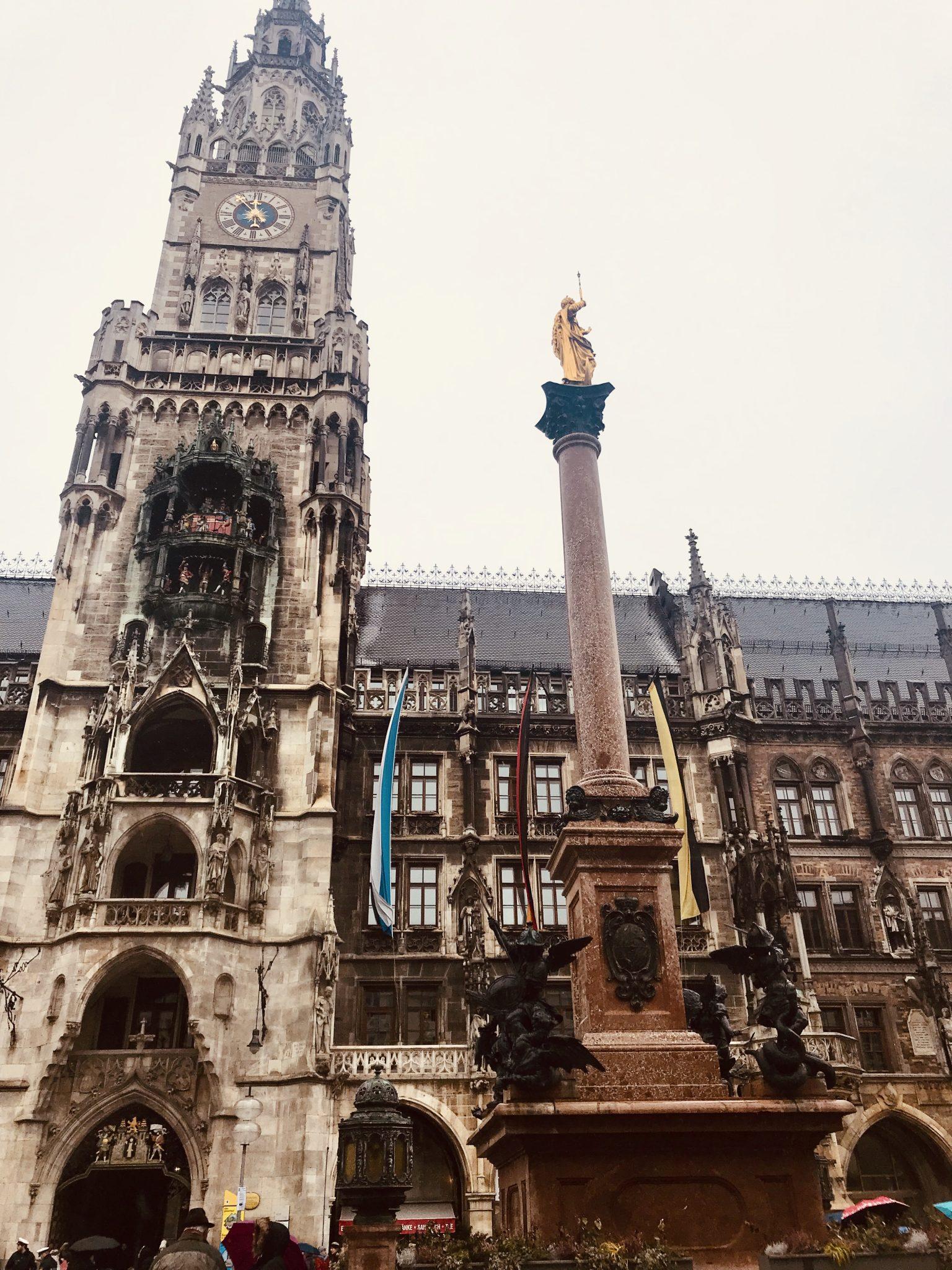 marianplatz in munich germany