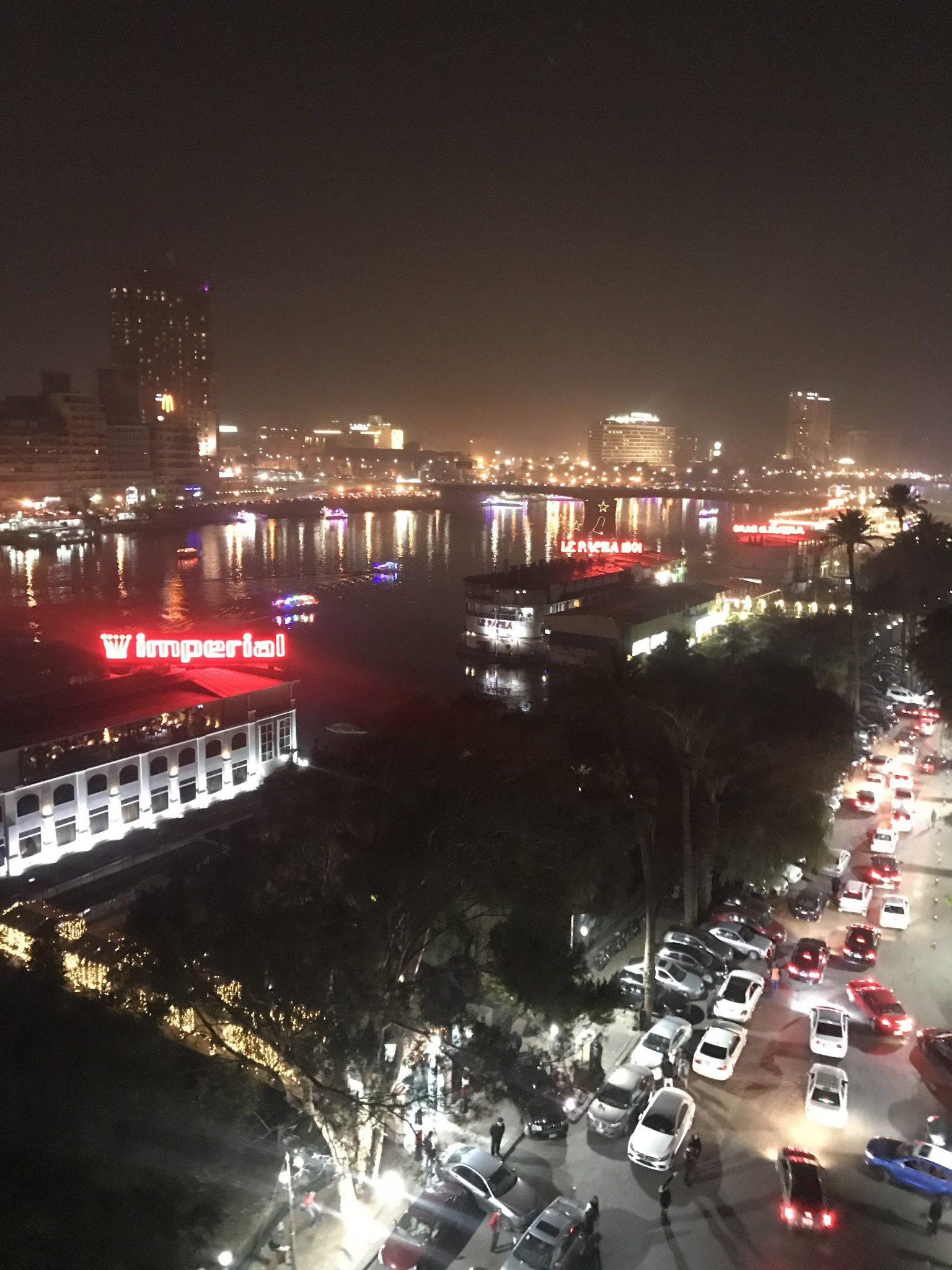 new year in cairo from zamalek