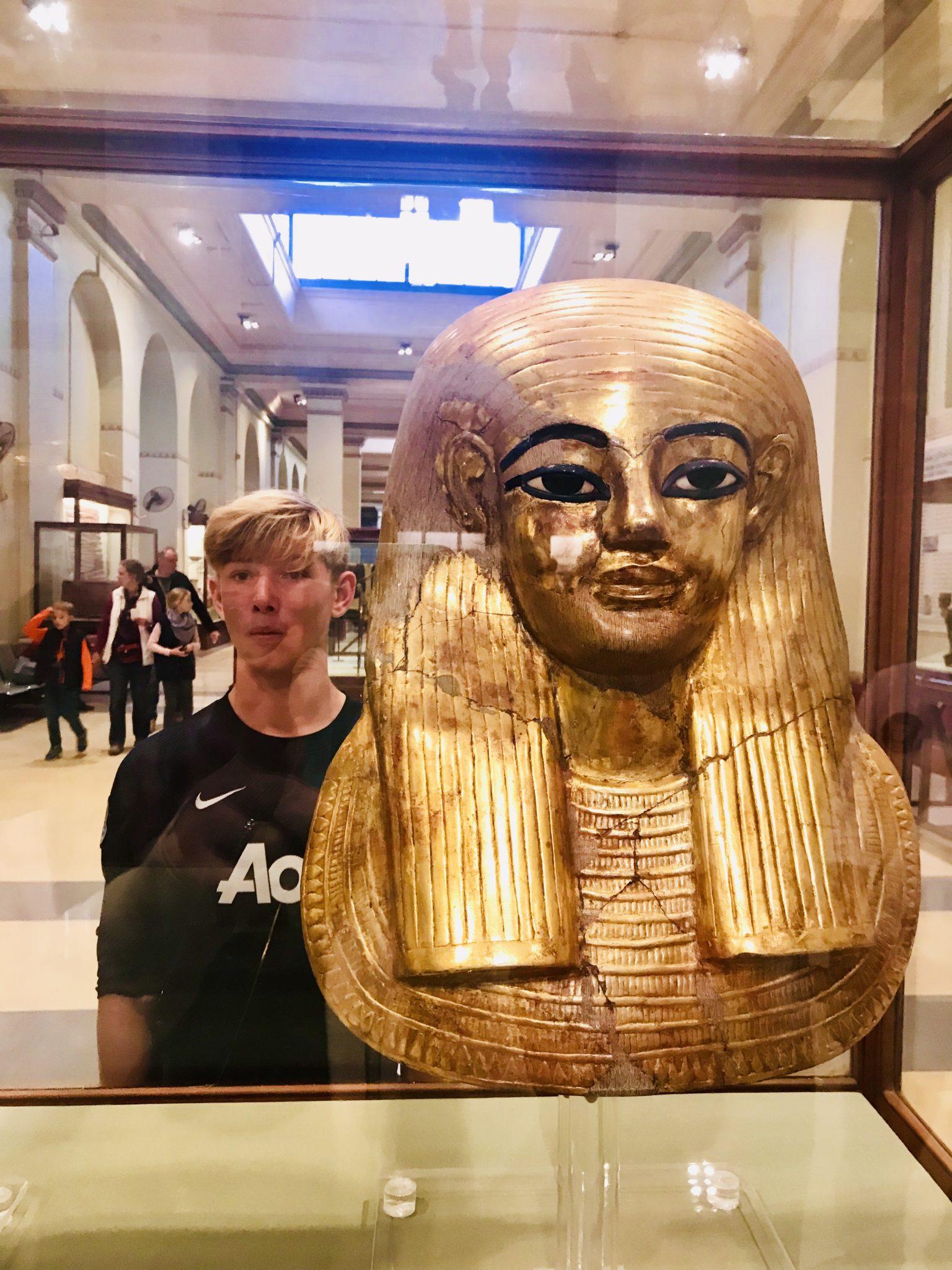 king tut museum, cairo