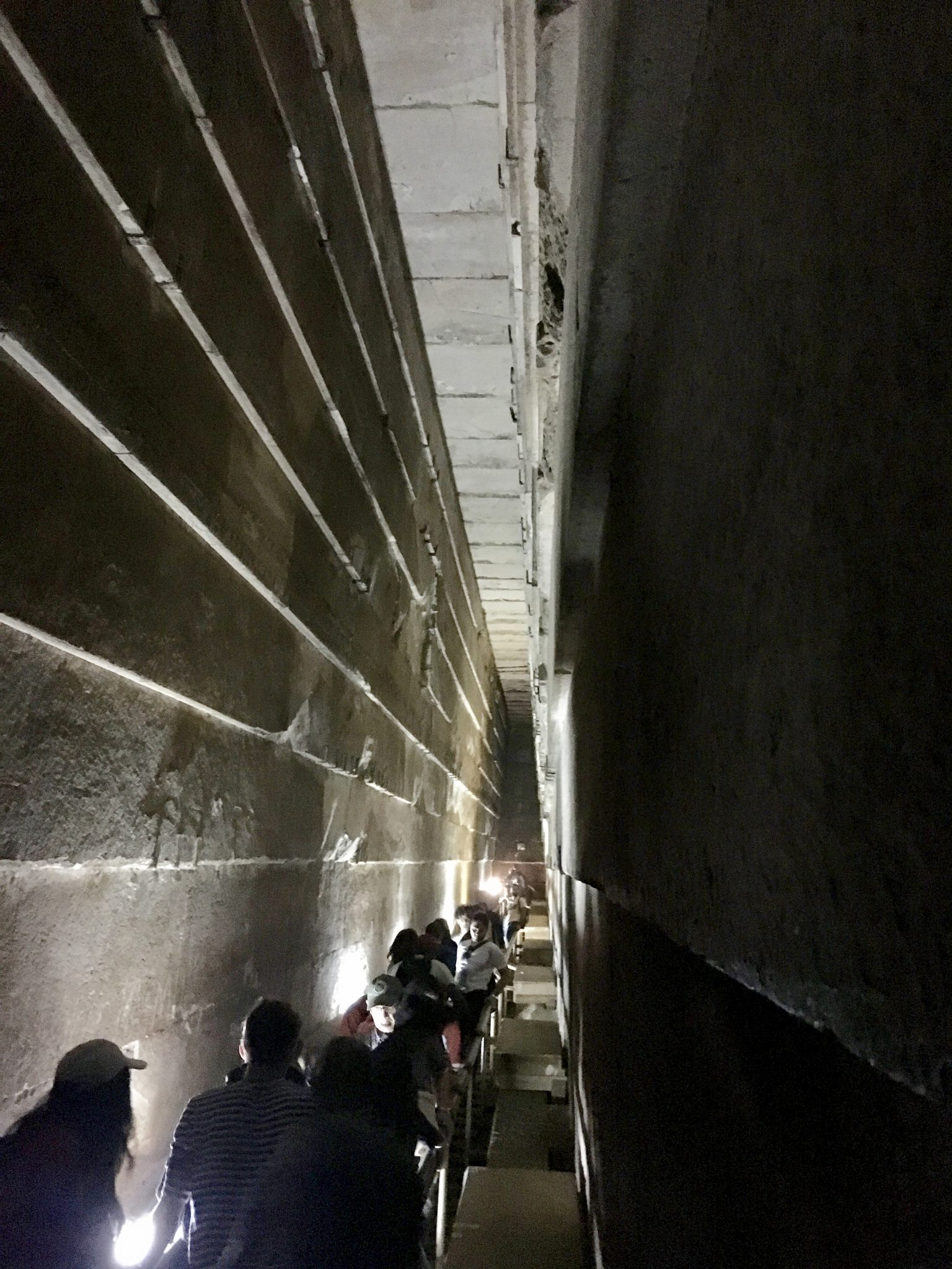 inside the pyramids in cairo