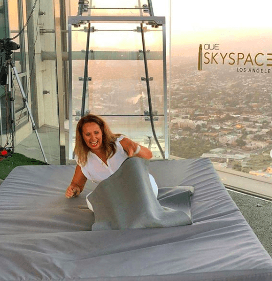 glass slide at our space los angeles and 8 fun things to do in los angeles this summer