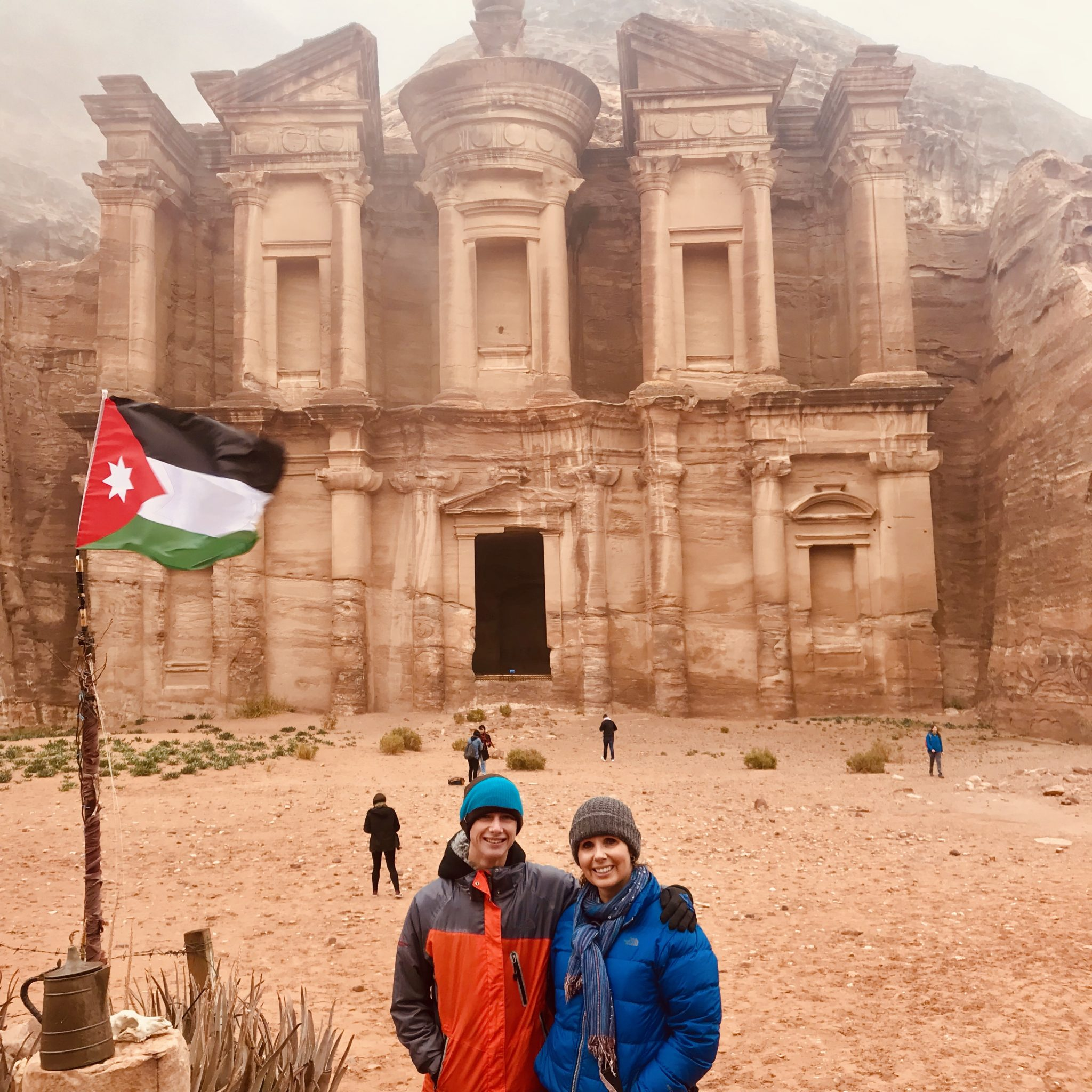 monastery hike at petra