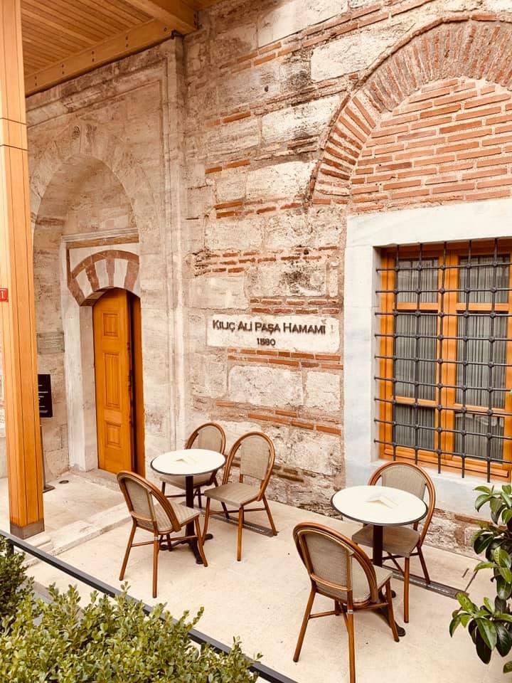Kılıç Ali Paşa Hamam, a historical Turkish Bath in Istanbul