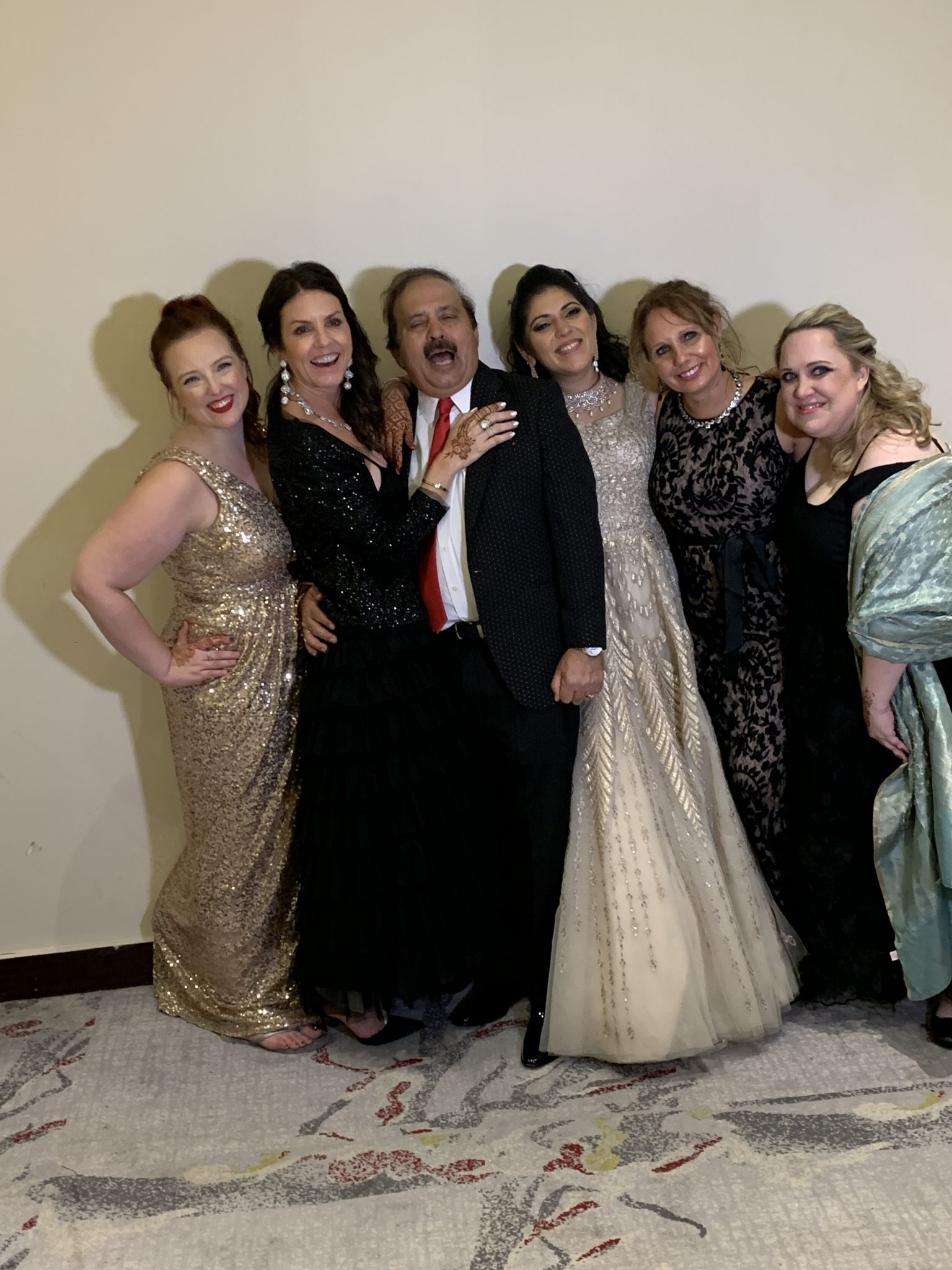 Papa Singh at the Indian Wedding