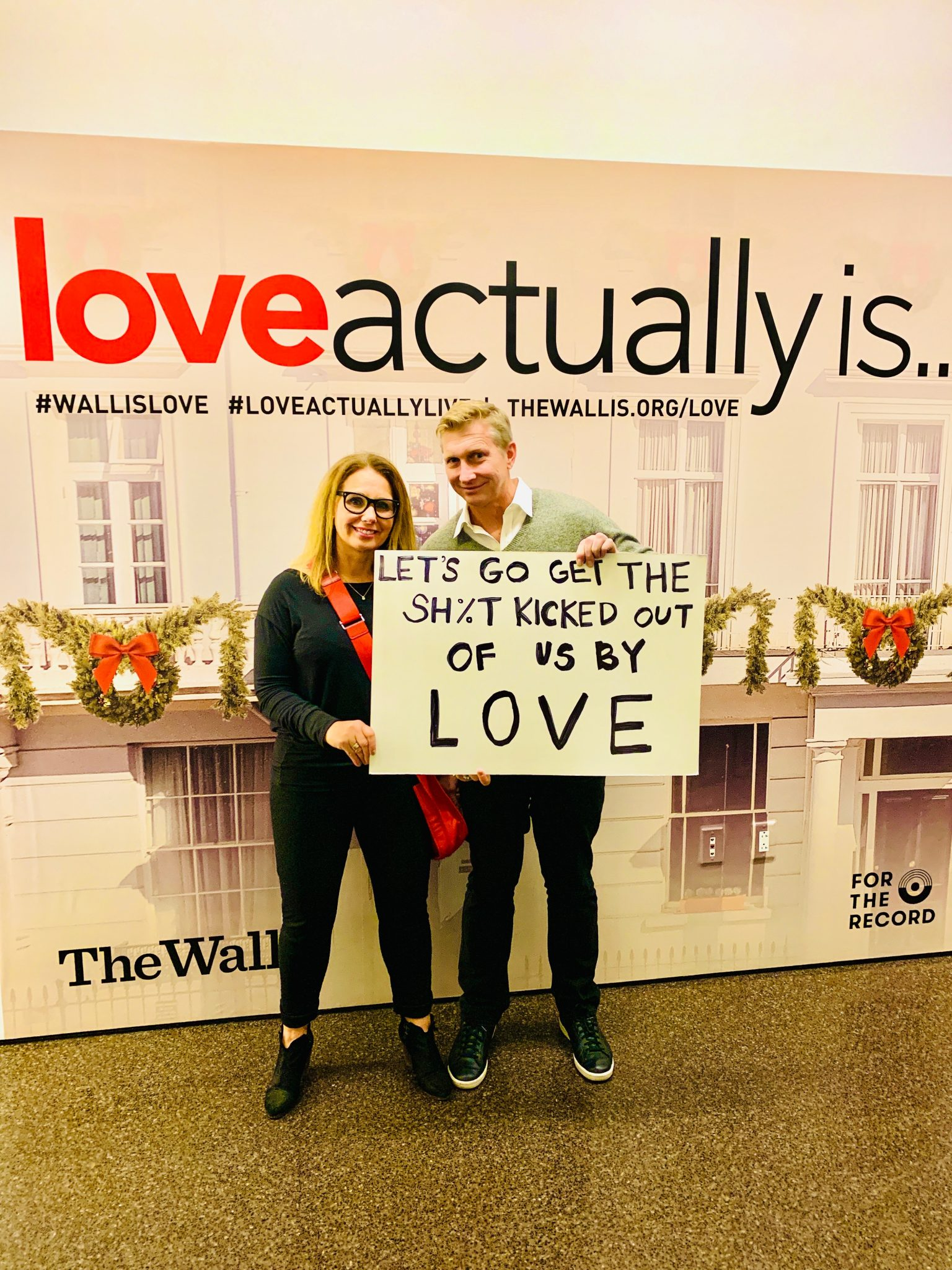 love actually live in los angeles with the family