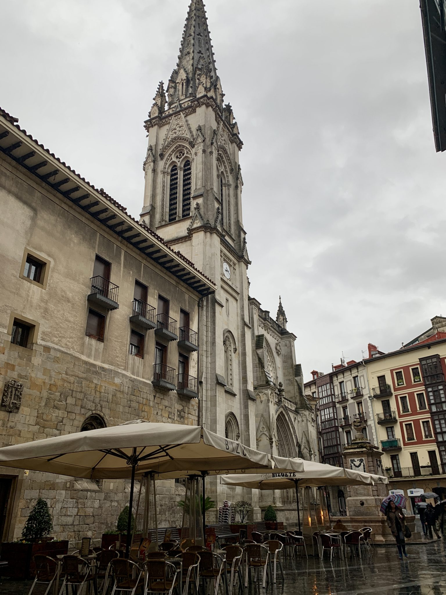 cathedral in bilbao spain