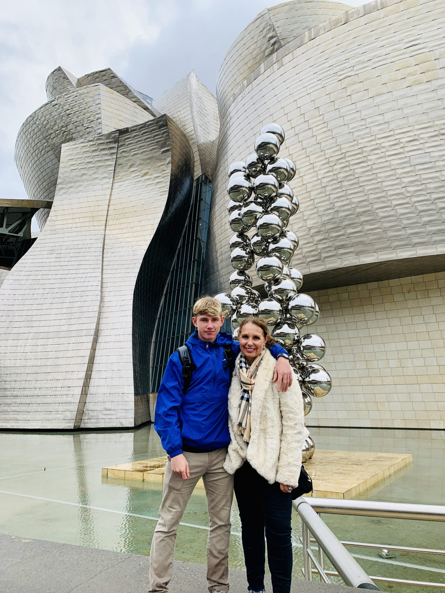 guggenheim museum bilbao with kids