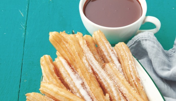churros con chocolat bilbao spain