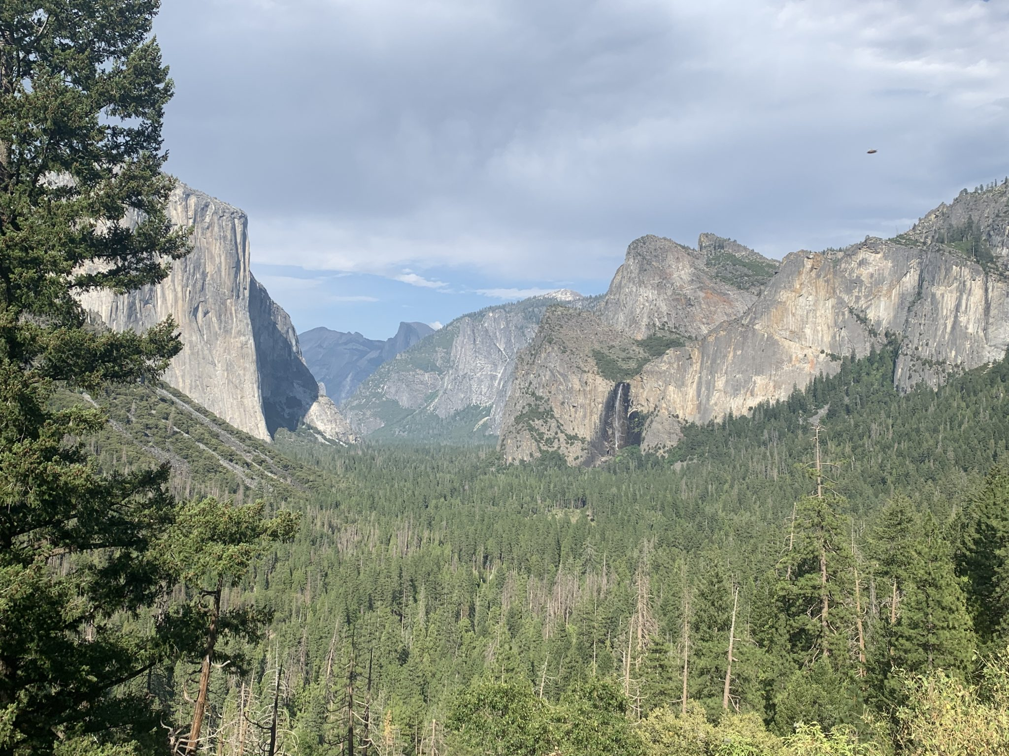 tunnel view and inspiration point in yosemite national park