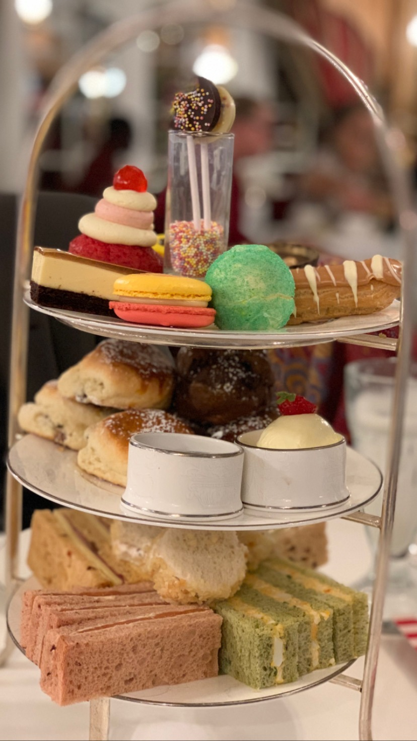 afternoon tea at The Chesterfield Mayfair Hotel