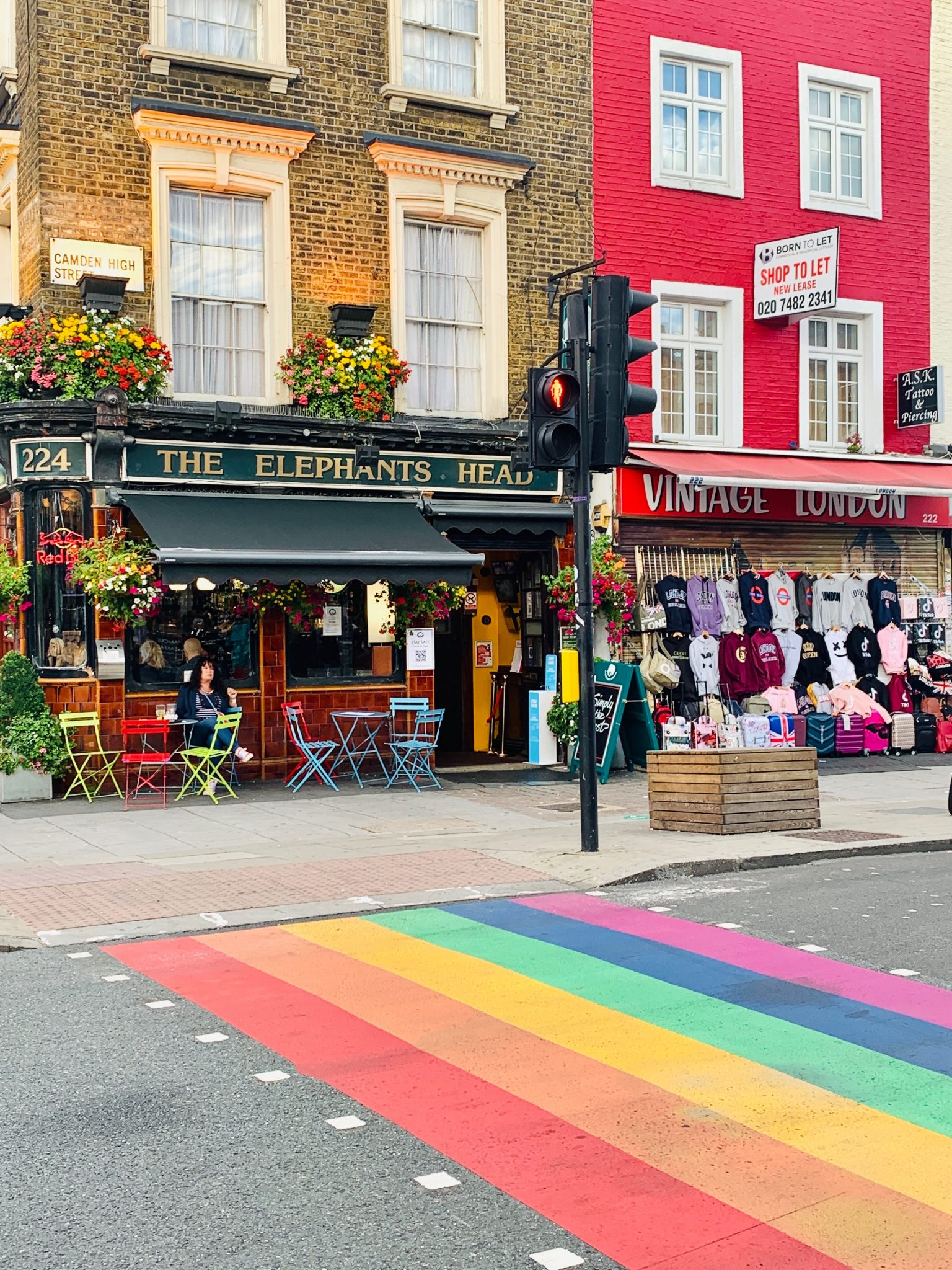 camden town living in London