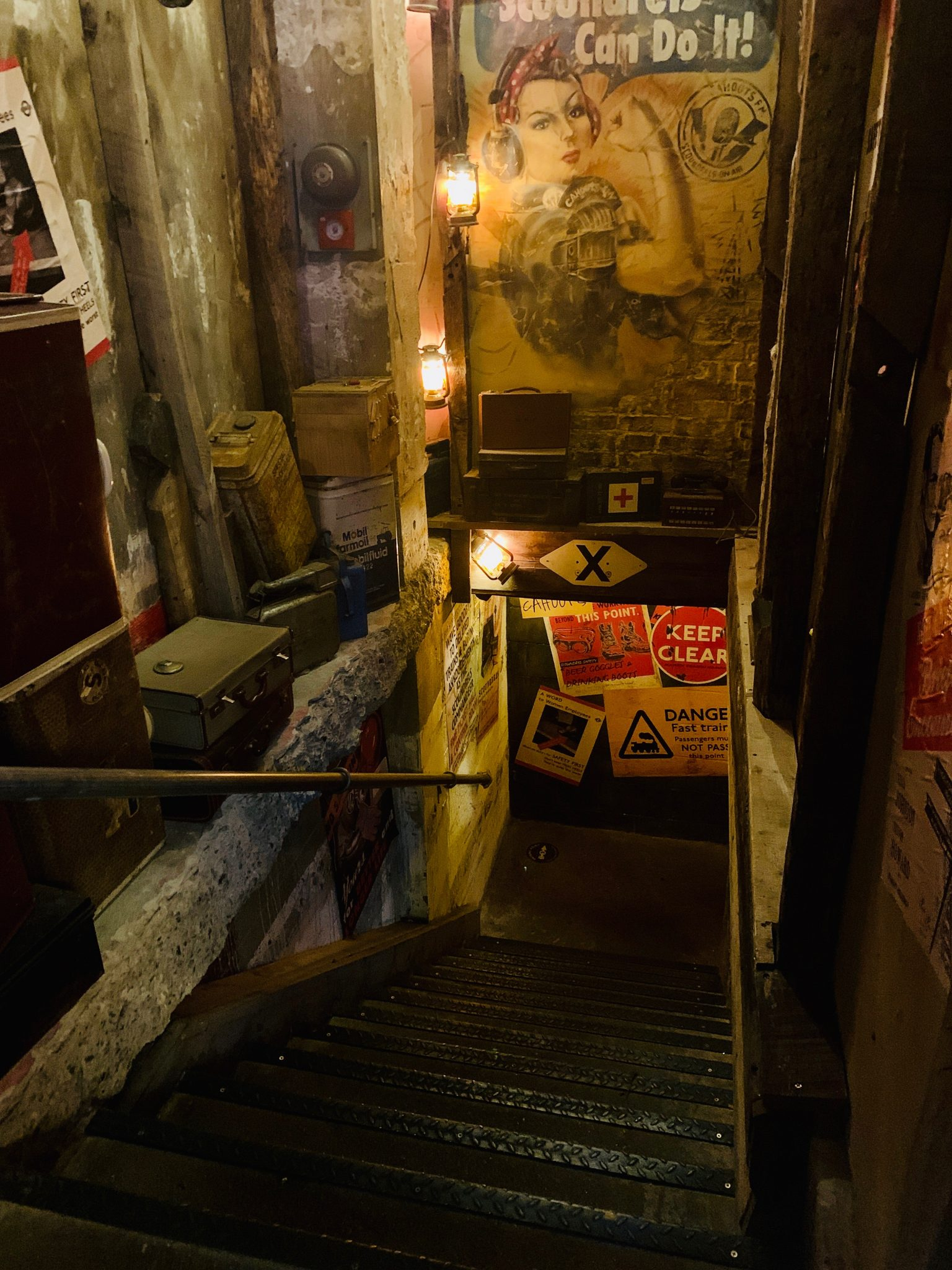 underground pub in london