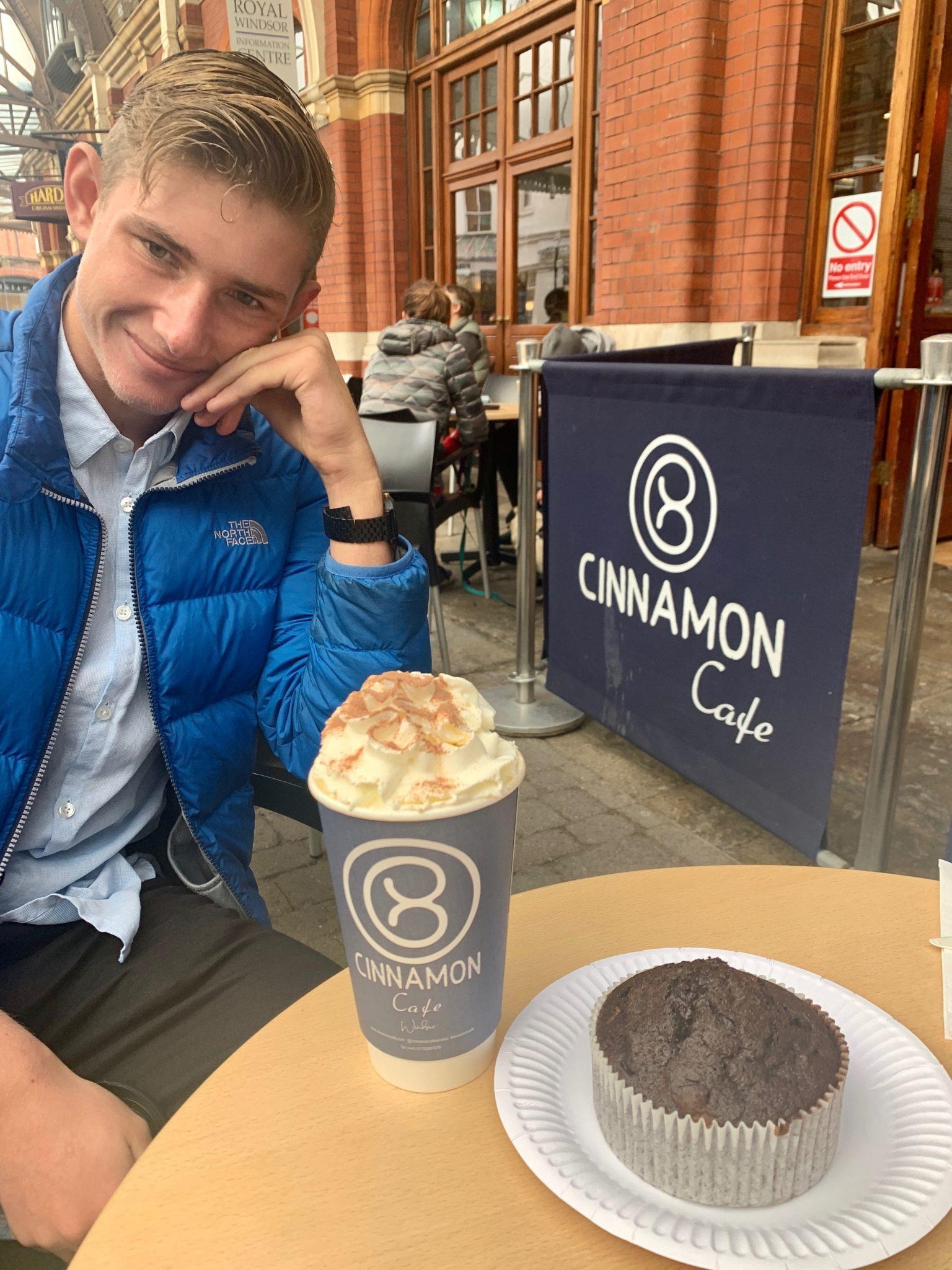 cinnamon cafe was delicious