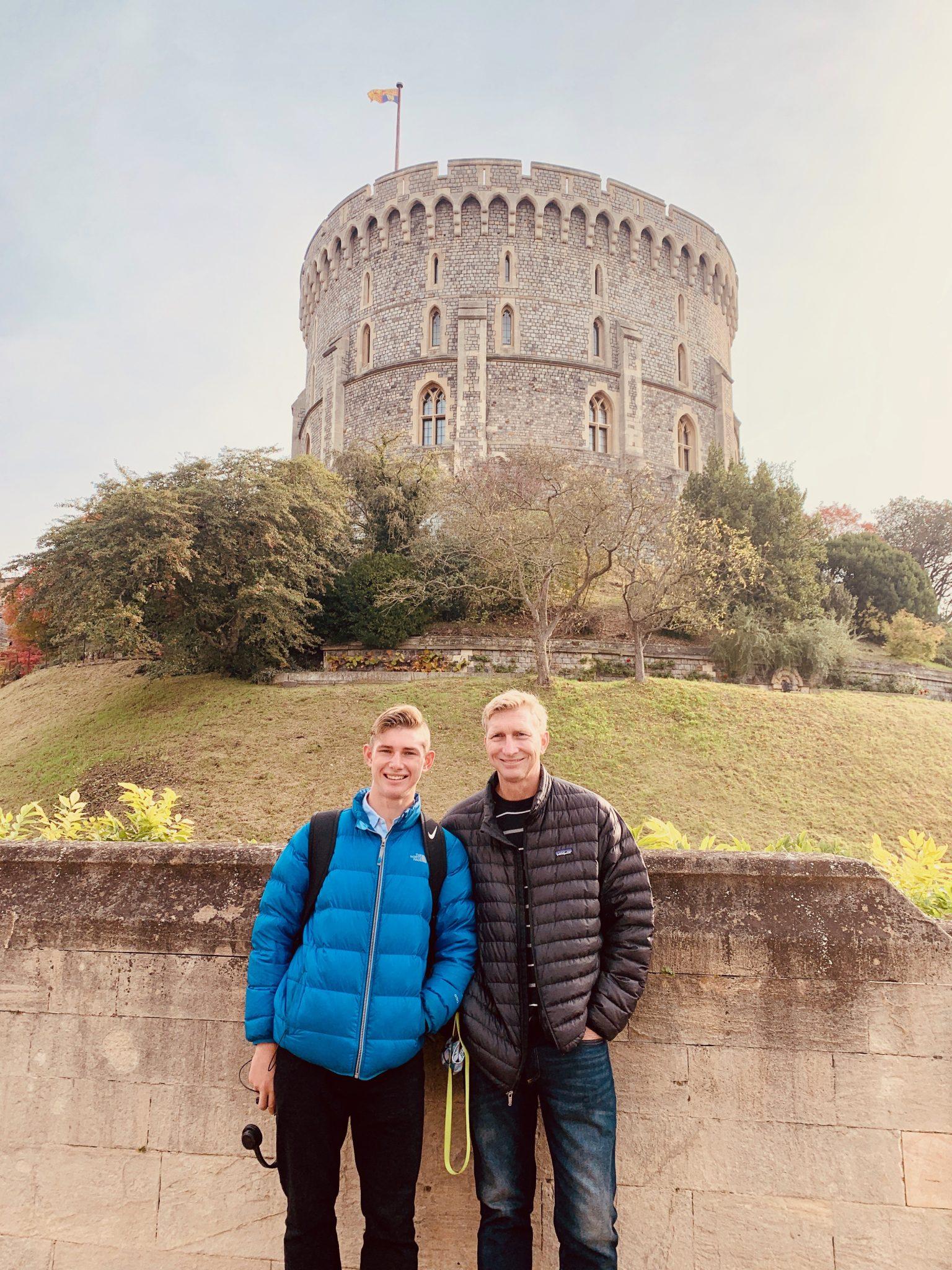 Visiting Windsor Castle
