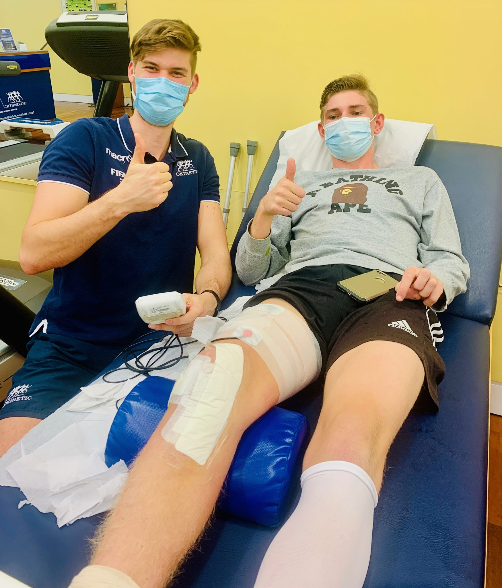 acl recovery for student athlete