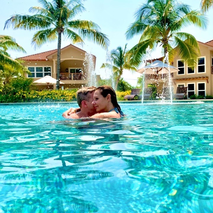 relaxing in belize at sirenian bay resort and villas