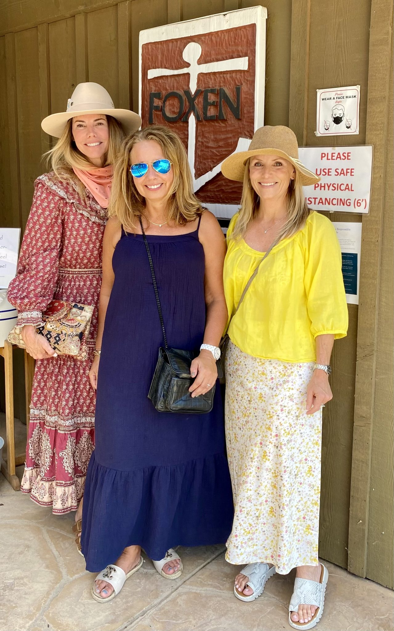 girl weekend away at foxen winery