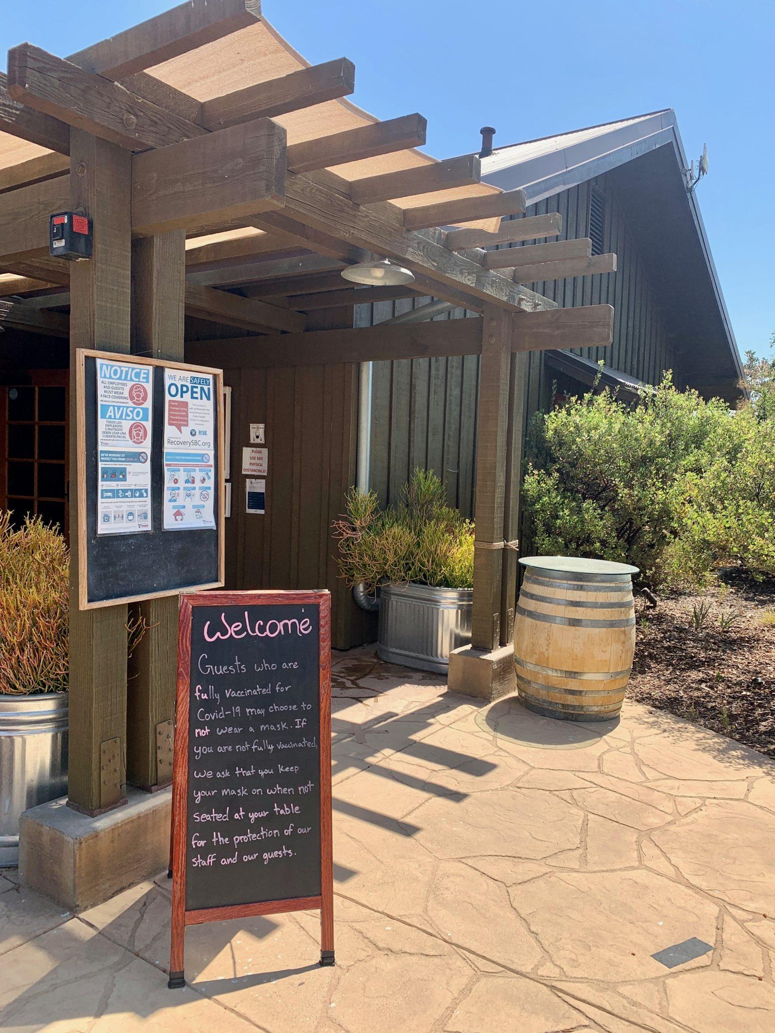 foxen winery in santa ynez valley