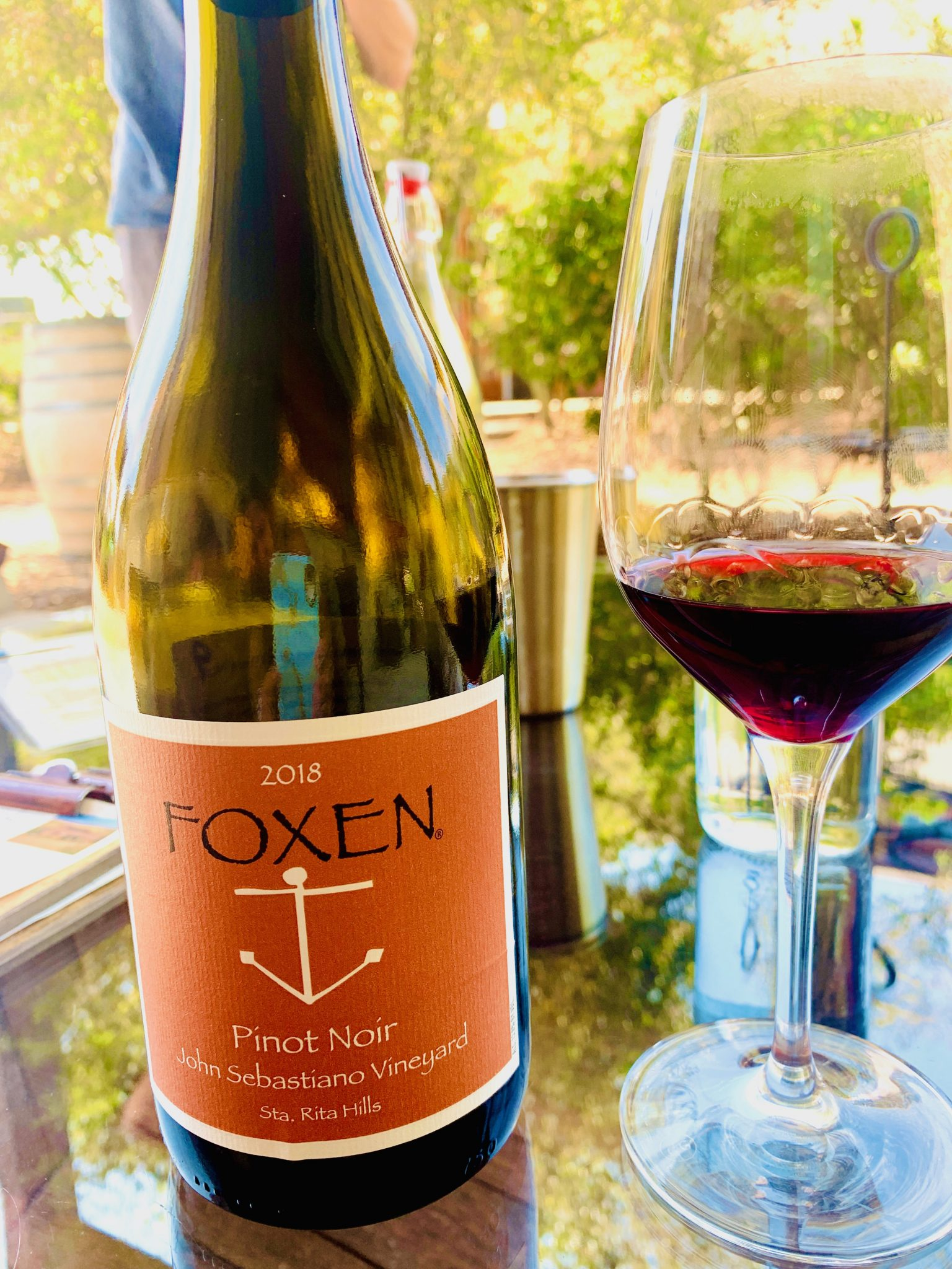 Foxen winery pinot noir is delicious