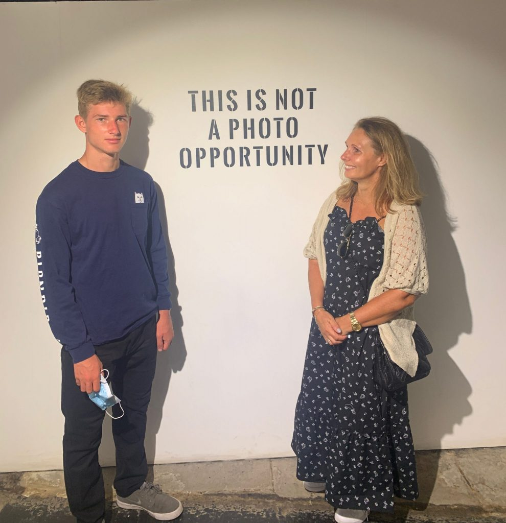 the art of banksy exhibition in london is great for families